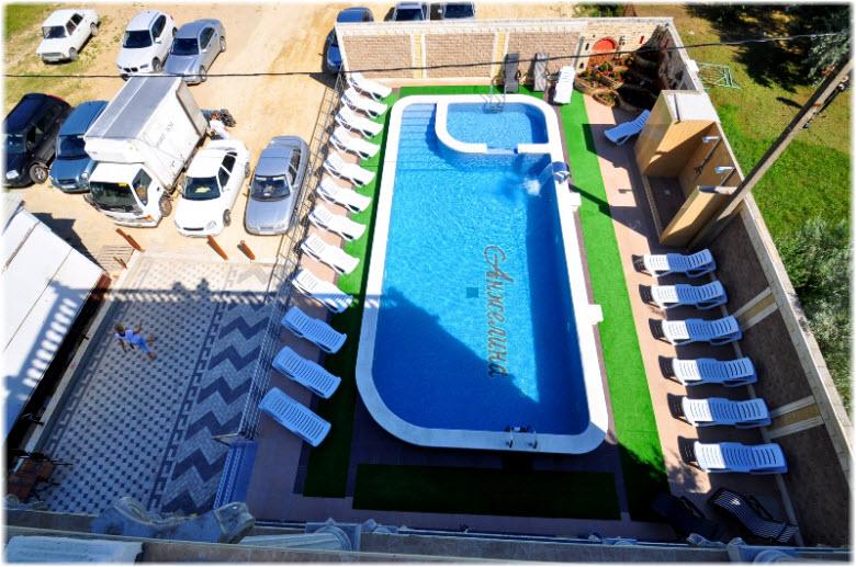 гостевой дом анжелина витязево бассейн