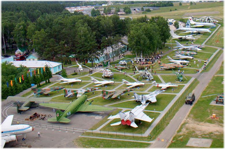 Фото самолетов в Музее авиационной техники