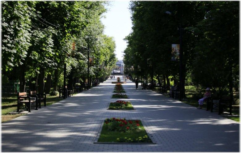 фото парка имени горького в таганроге