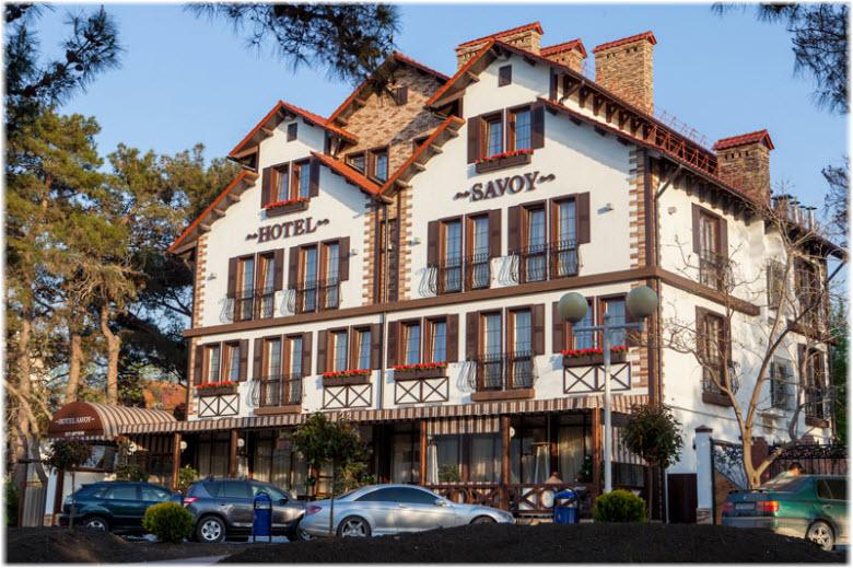 геленджик отель савой