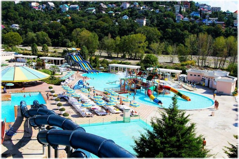 лазаревское аквапарк фото