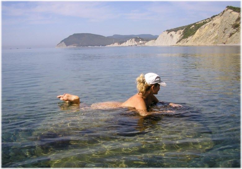 нудистский пляж в большом утрише фото