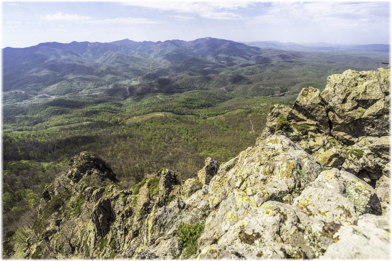 вид с горы индюк фото