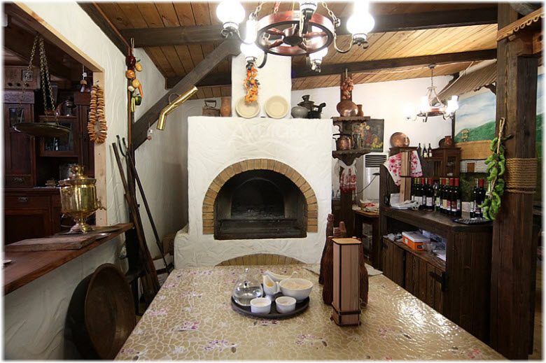 Фото внутри Музея вина и хлеба