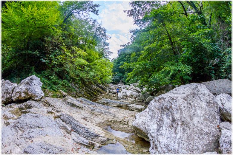 фото Агурского ущелья
