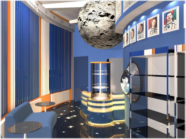фото внутри Новороссийского планетария