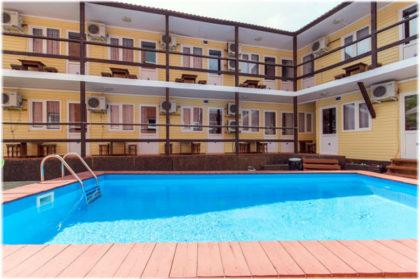 гостевой дом Изумруд в Архипо-Осиповке