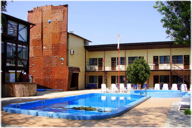 гостиница Акватория лета
