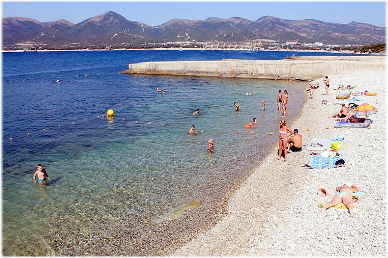 Пляж Прометей в Кабардинке