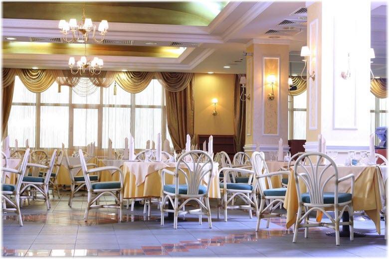 ресторан в отеле Надежда