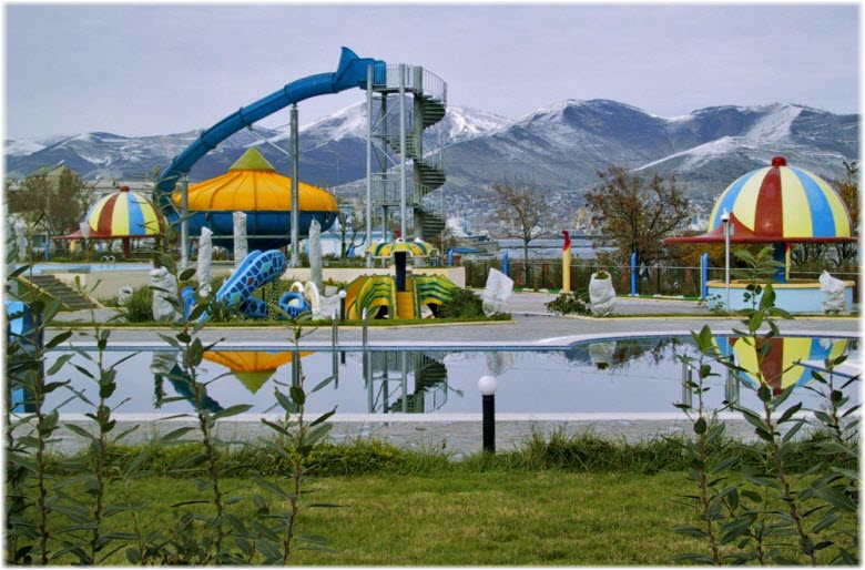 Аквапарк в парке Фрунзе