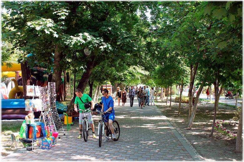парк имени Фрунзе в Новороссийске