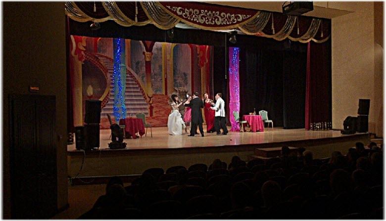 фото со сцены Городского театра