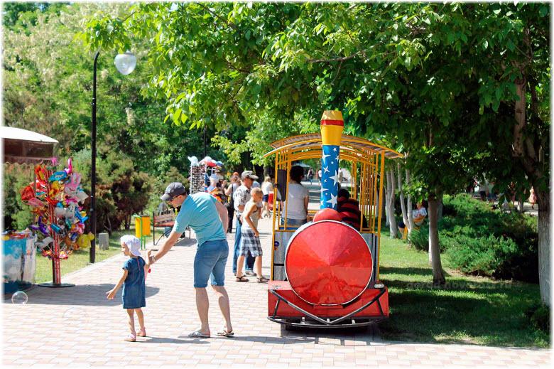 фото в парке Фрунзе