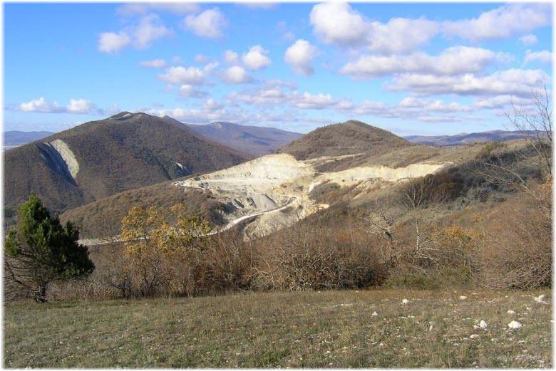 Гора Нексис в Геленджике