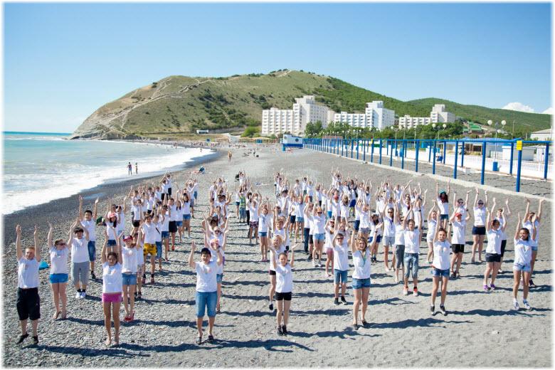 пляж лагеря Смена