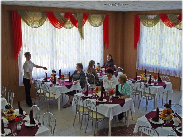 ресторан санатория Парус