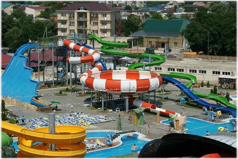аквапарк Джубга
