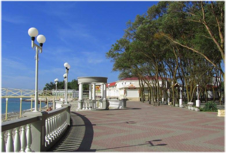 фото на набережной Дивноморского