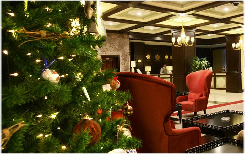 новый год в Пик Отеле