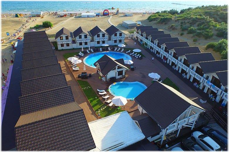 отель Белый пляж в Анапе