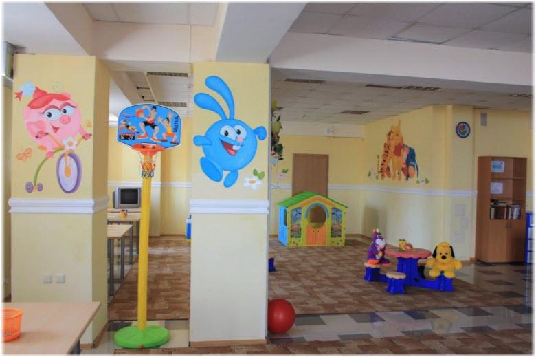 фото детской комнаты в отеле Агат