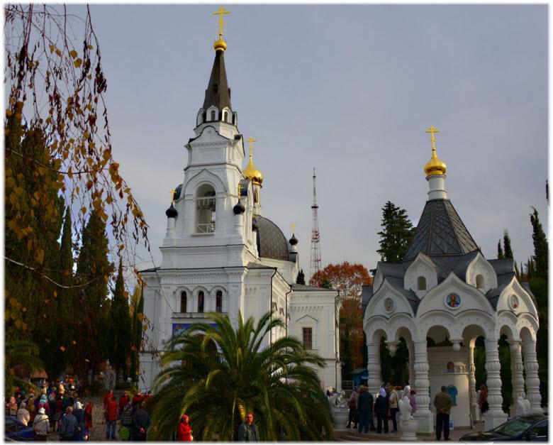фото вечернего храма