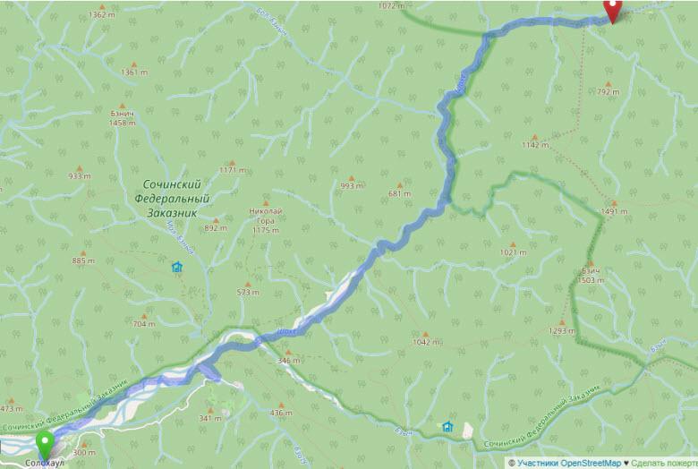 маршрут к озеру Хуко - часть 1