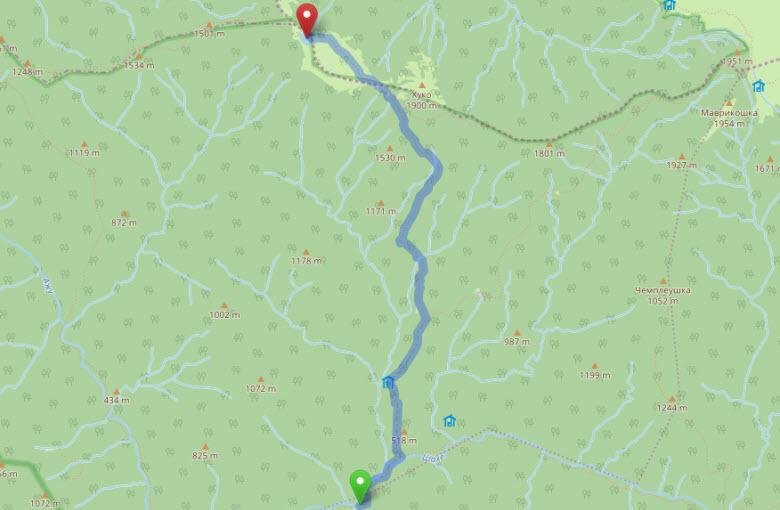 маршрут к озеру Хуко - часть 2