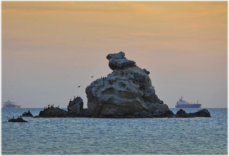 островки близ Панагии