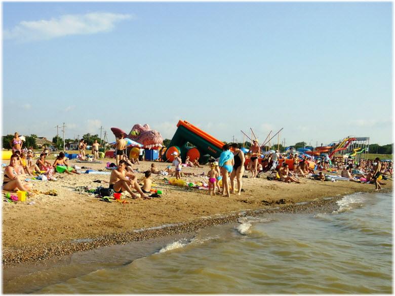 отдых на пляже Каменка