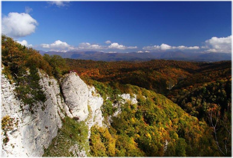 фото Белых скал в Сочи
