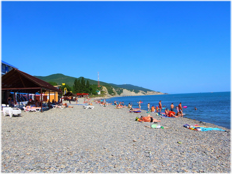 фото на Поселковом пляже
