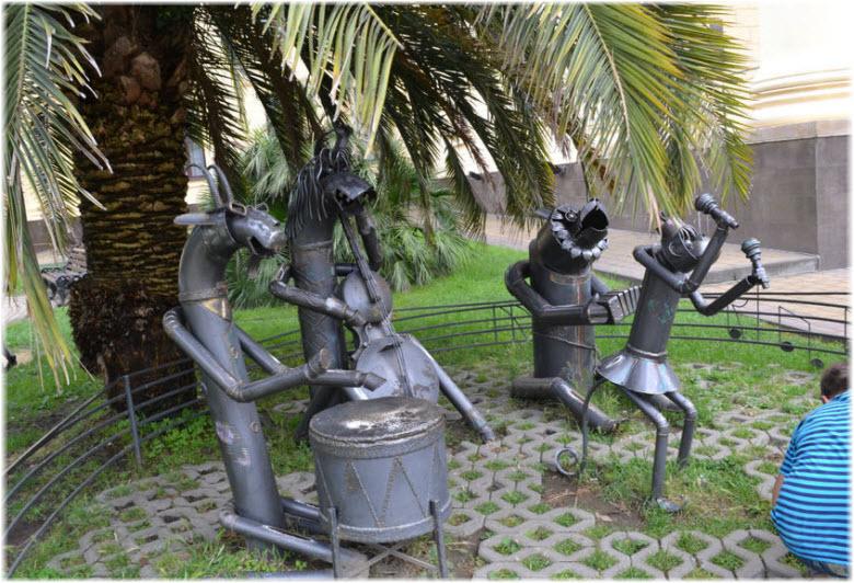 фото скульптур
