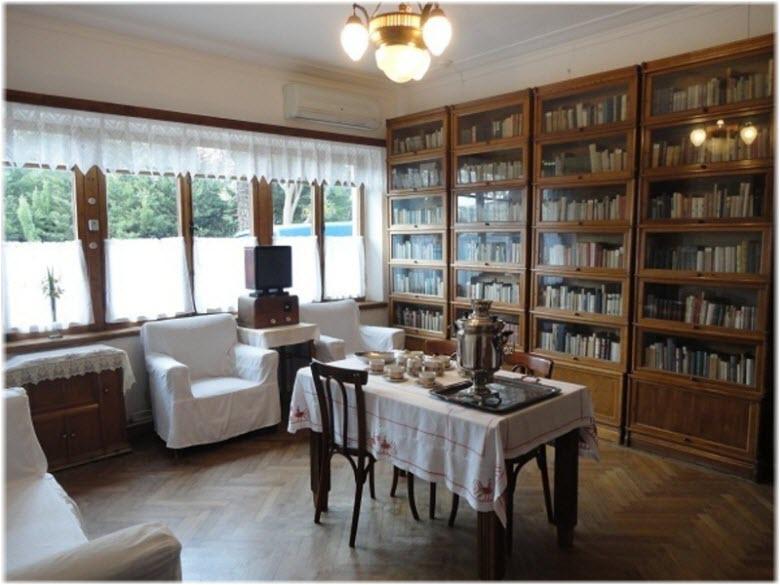 фото внутри дома-музея