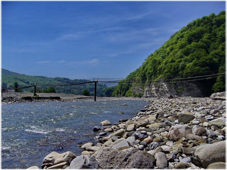 мости на Аше