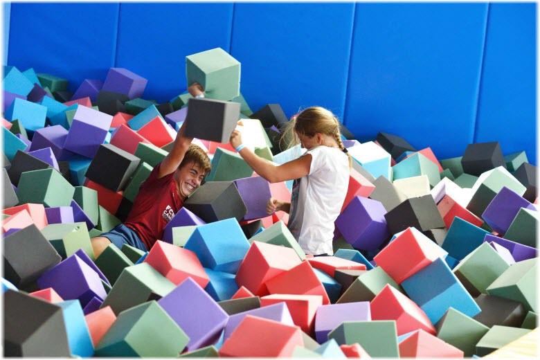 мягкие кубики в Олимпе