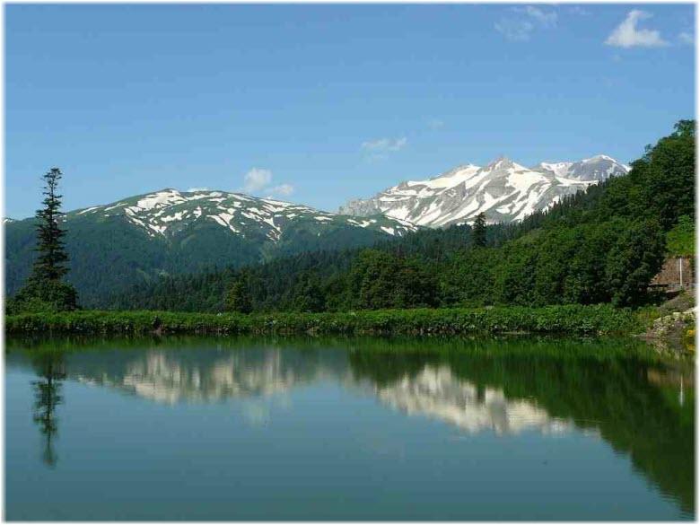 озеро на Партизанской поляне