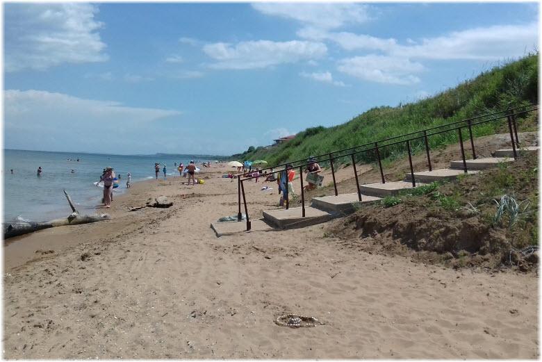пляж Приморской набережной