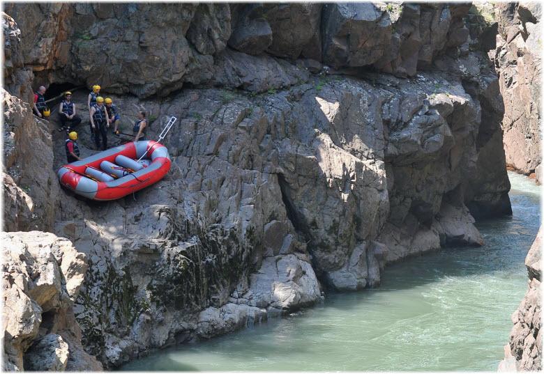 рафтинг в Гранитном каньоне
