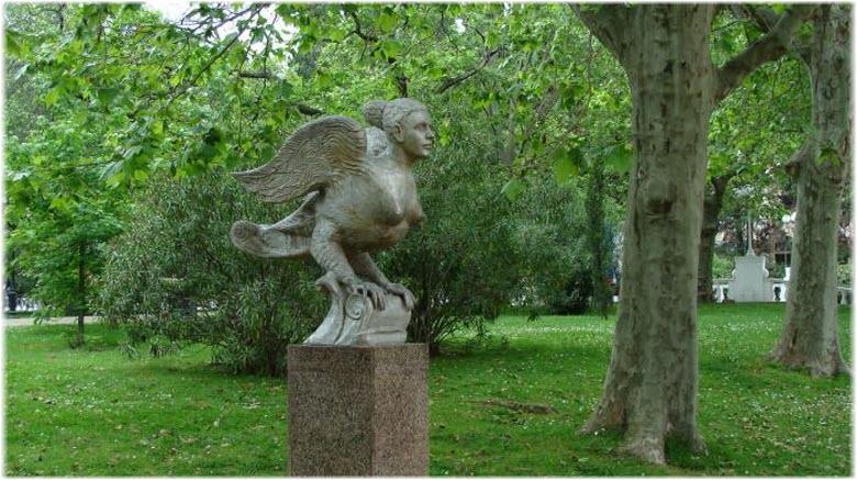 скульптура Птица Сирин