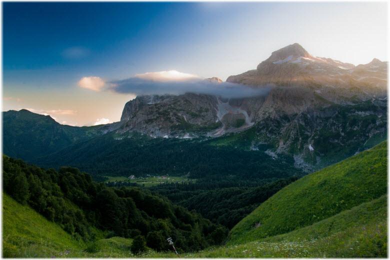 виды горы Фишт