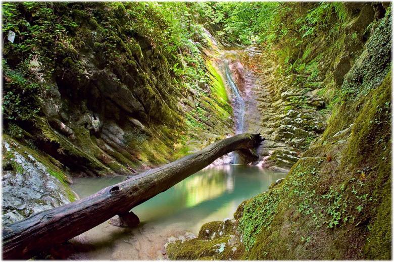 водопады Крабового