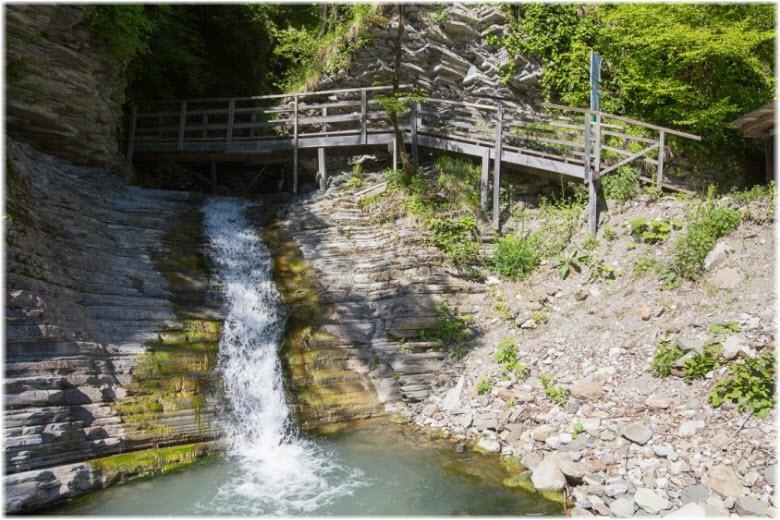 водопады Шапсуг и Псыдах