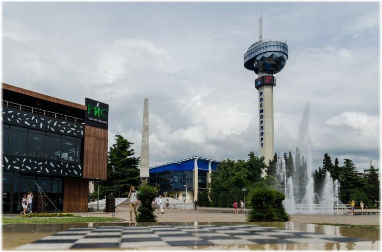 башня Туапсинского порта