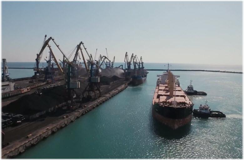 фото Морского порта в Туапсе