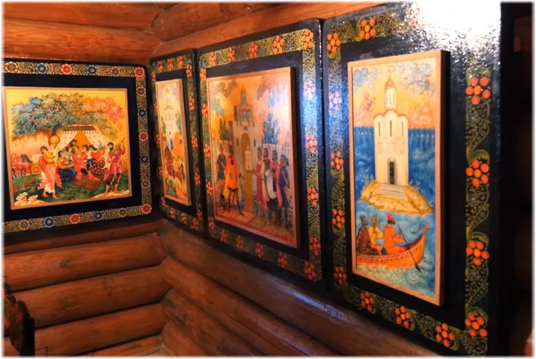 фото внутри Чайного домика