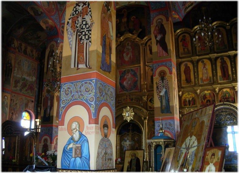 фото внутри монастыря