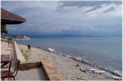 пляж Западный