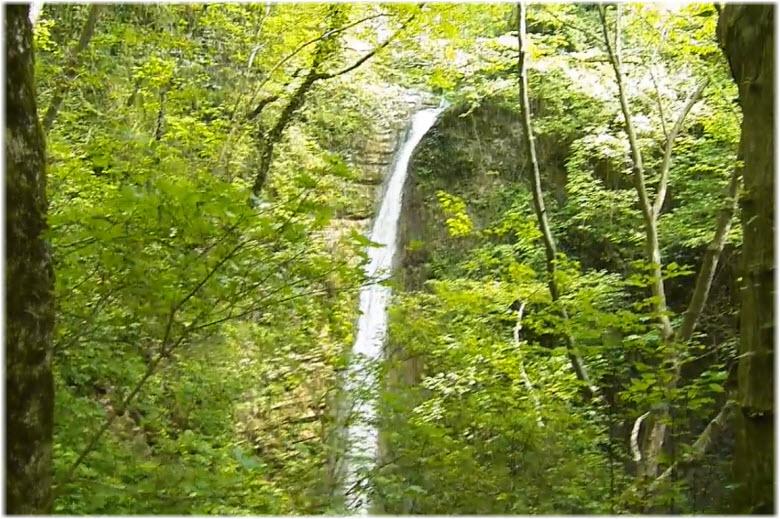 водопад Слезы Лауры